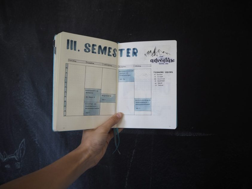 Preparing A New Semester At University (+ Back to School Prompts)