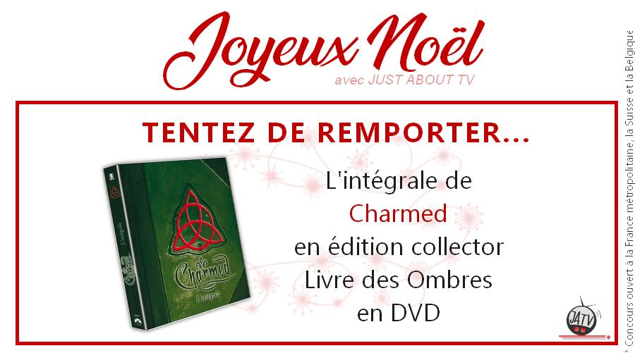 [Calendrier de l'avent - Jour 20] Tentez de gagner l'intégrale de Charmed en DVD (Livre des Ombres)