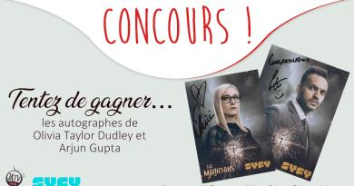 The Magicians : tentez de gagner les autographes d'Olivia Taylor Dudley et Arjun Gupta !