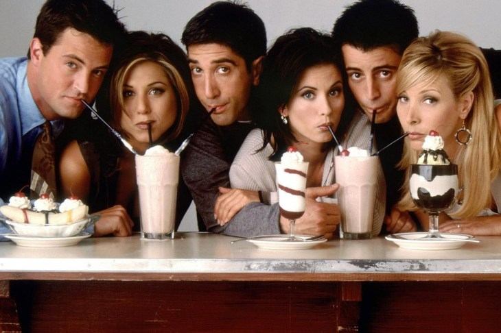 fin de séries : Friends
