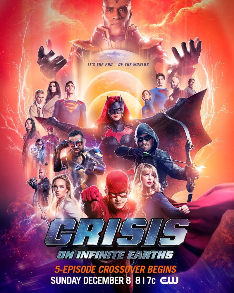 Crisis on Infinite Earths la fin des mondes dans l'ultime trailer poster
