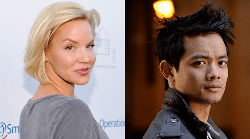 Ashley Scott et Osric Chau dans le crossover du Arrowverse
