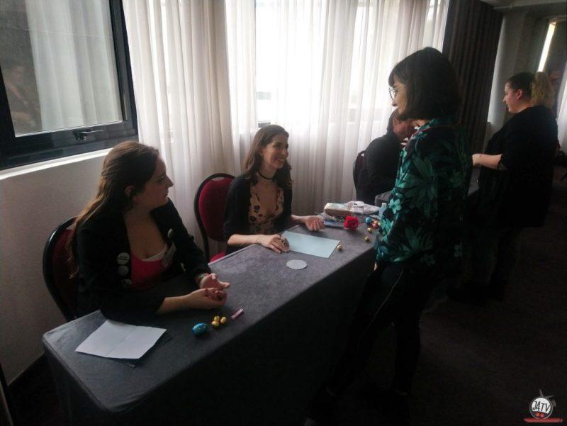 Autographe Genevieve Buchner