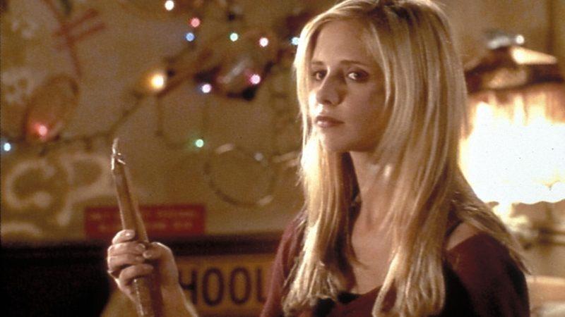 Buffy dans Buffy contre les vampires - Journée Internationale du Droit des Femmes