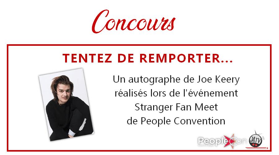 Stranger Things : un autographe de Joe Keery à gagner !
