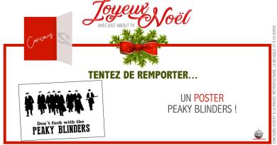 [Calendrier de l'avent - Jour 2] Tentez de remporter un poster Peaky Blinders !