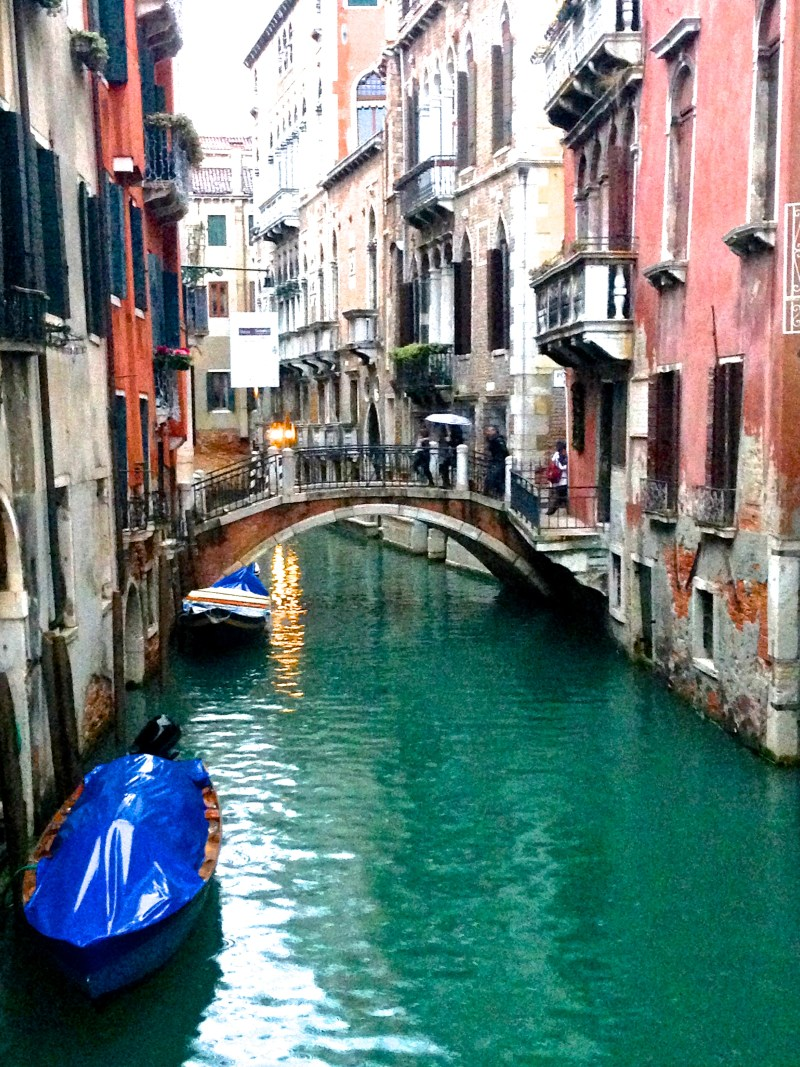 One of the picturesque canals of Venice