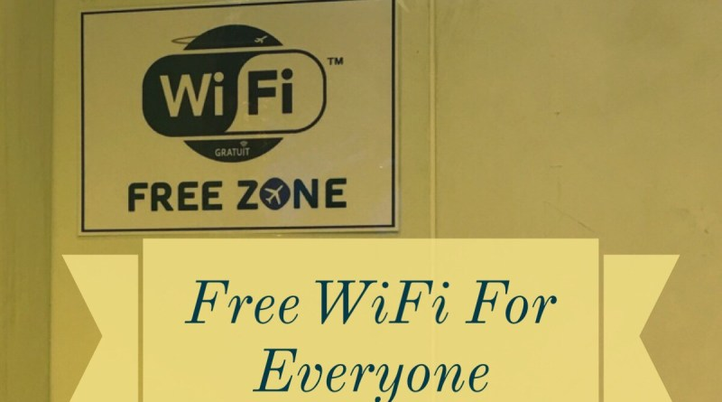 Free Wifi For Everyone Just A Carry On