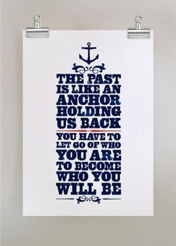 anchor past