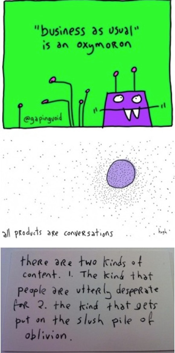 gapingvoid social media strategy pics