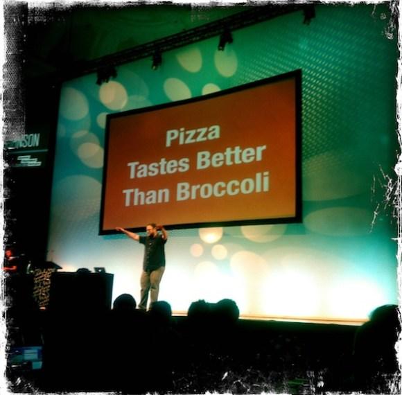 pizza vs broccoli