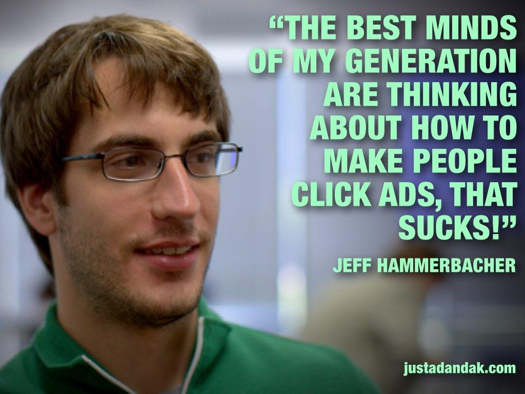jeff hammerbacher ad quote