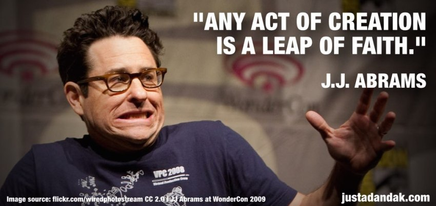 jj abrams creativity quote