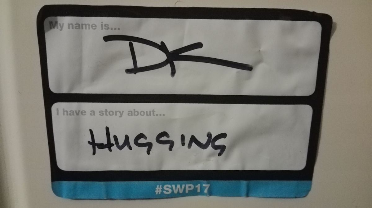 SWP DK badge
