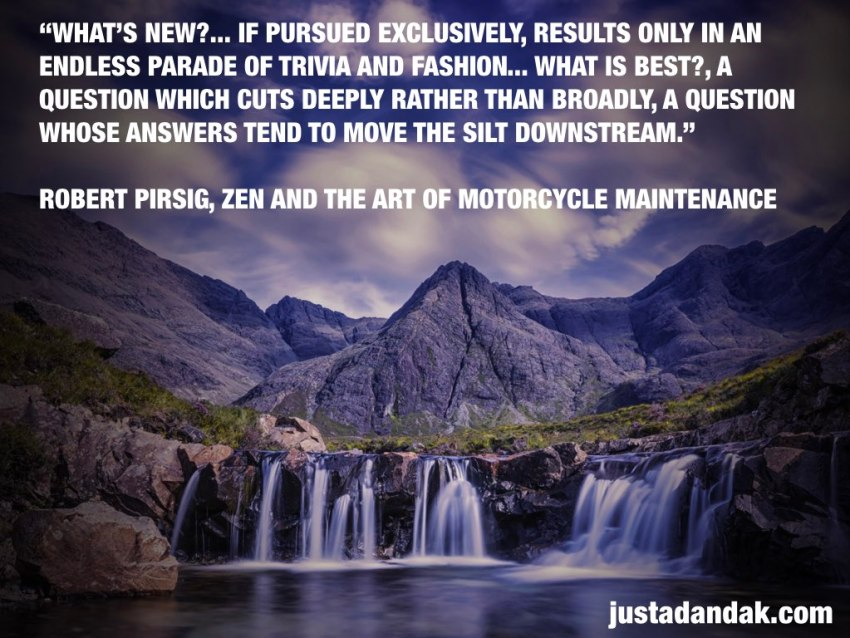 what's best pirsig quote