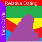 relative dating task cards