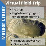 meteor crater virtual tour