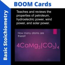 stoichiometry boom cards