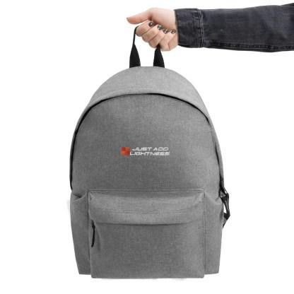 JAL Embroidered Backpack 2