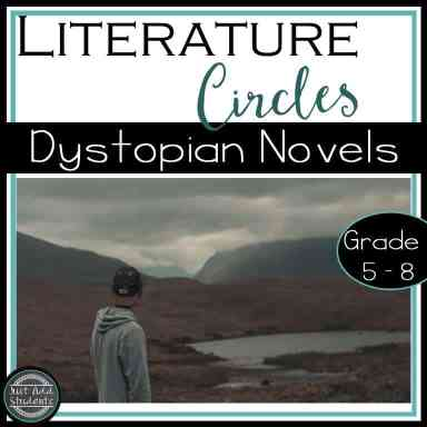 Your students already love dystopian literature.  Use any novel with this resource and your literature circles are a breeze!