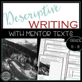 How to teach descriptive composition. Teach descriptive writing to your students using mentor texts, sketches, and self assessments.