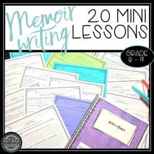 How to teach memoir writing
