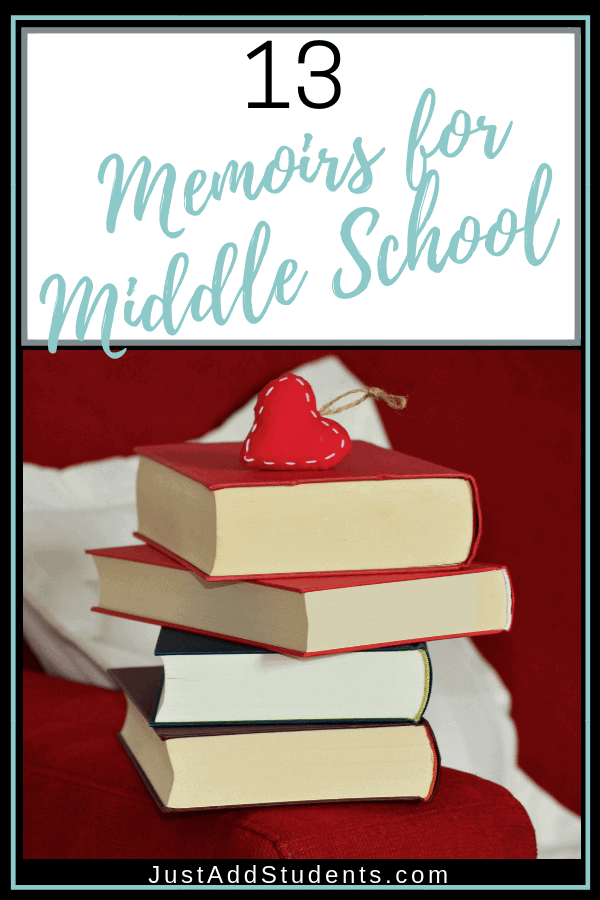 Looking for texts to use to introduce your students to memoir writing?  Or the genre of memoir?  Here are 13 texts to get you started!