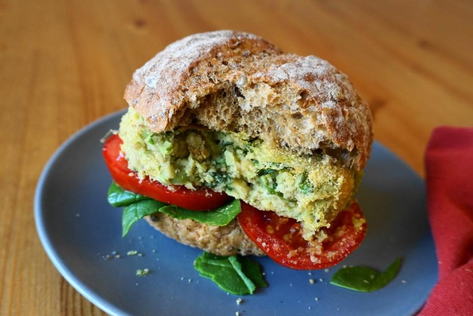 Green garden burger CU3