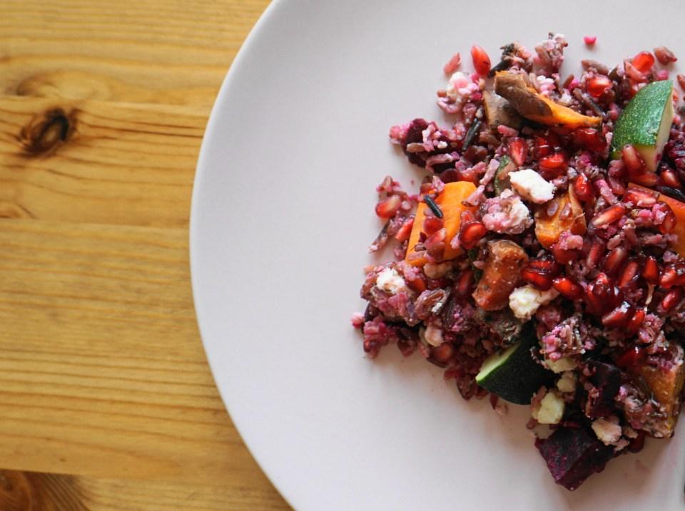 Rice with roast veg 6