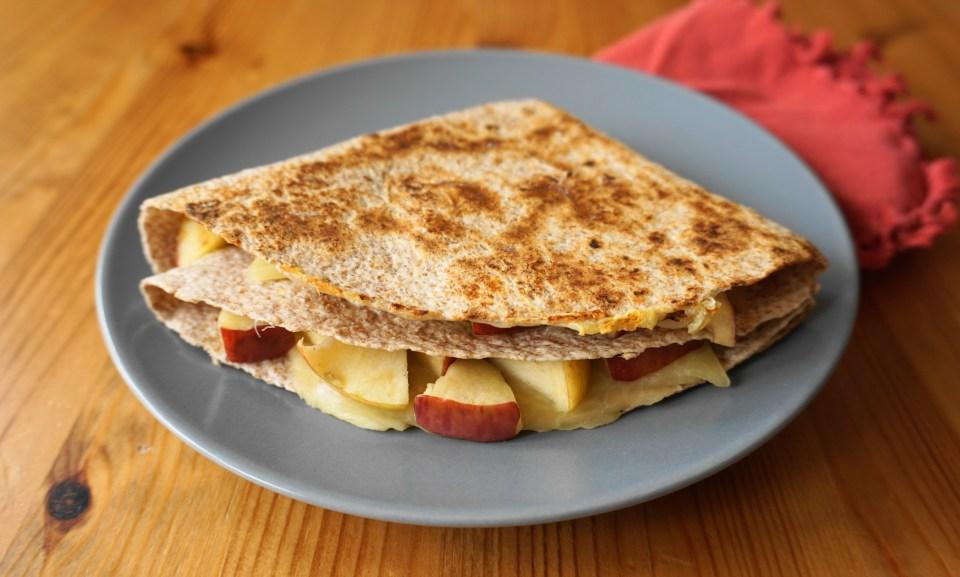 fruity quesadillas 1