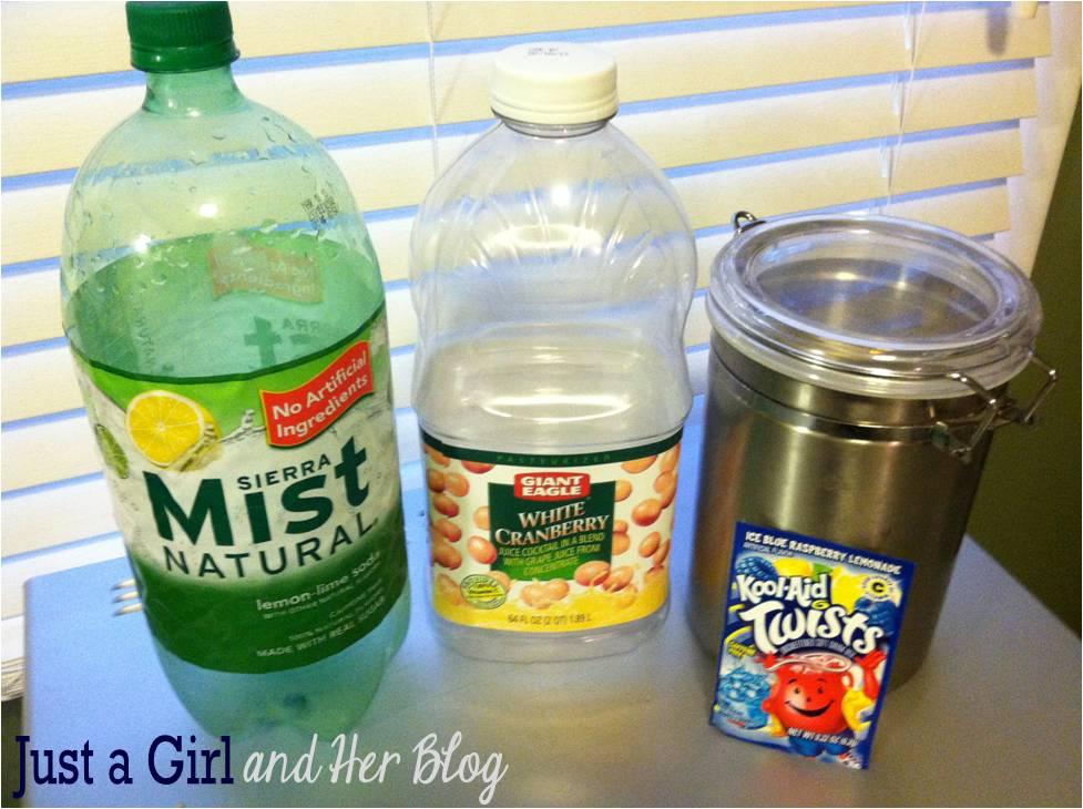 Blue Lemonade Raspberry Kool Aid