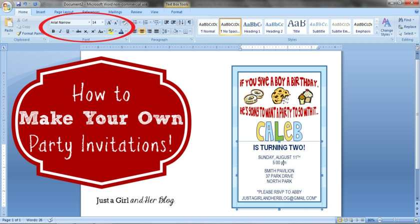 Make Invitation How To Your Own