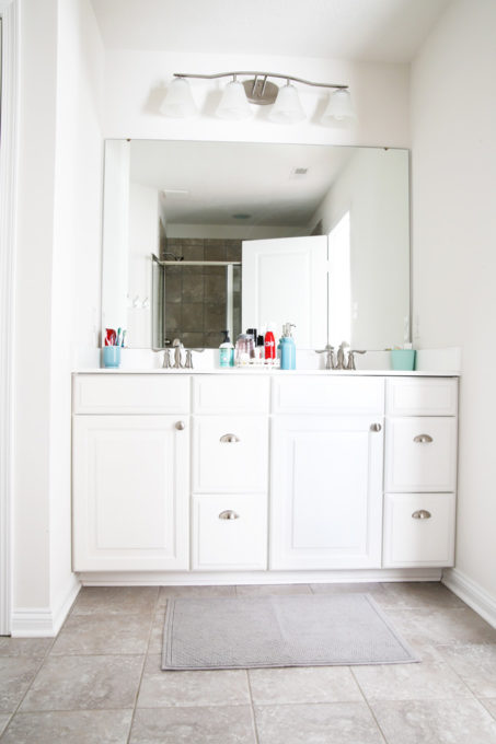 Im Sharing All Of My Favorite Master Bathroom Organization Ideas And Some Easy Updates