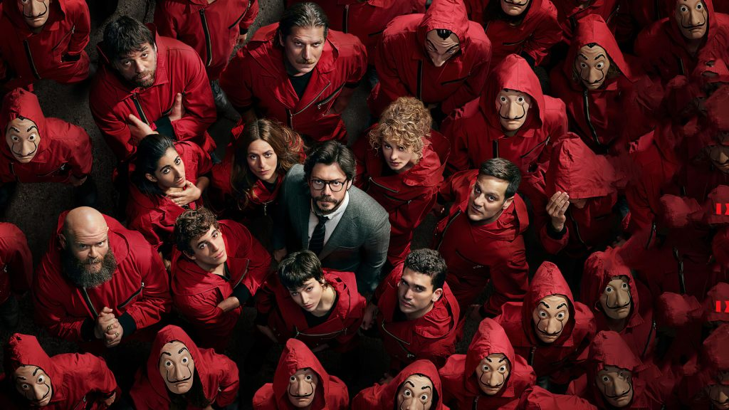 money heist hd wallpaper