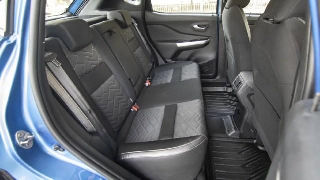 Nissan Magnite Rear seat