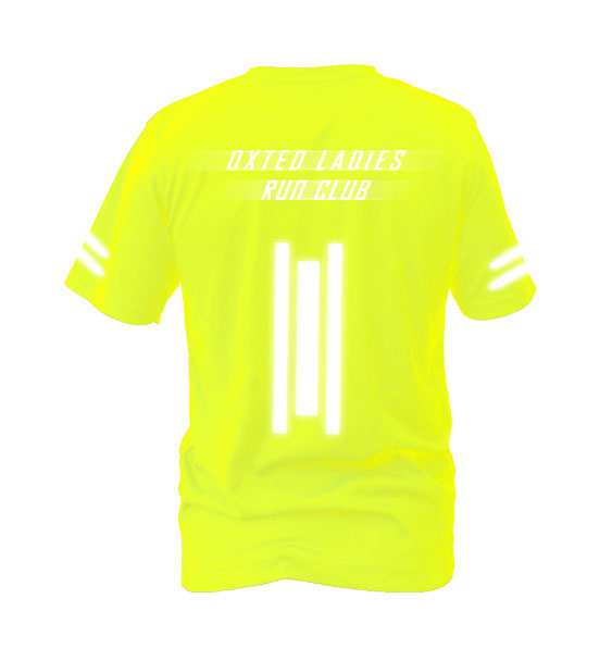 Oxted-ladies-run-safe-yelow-back