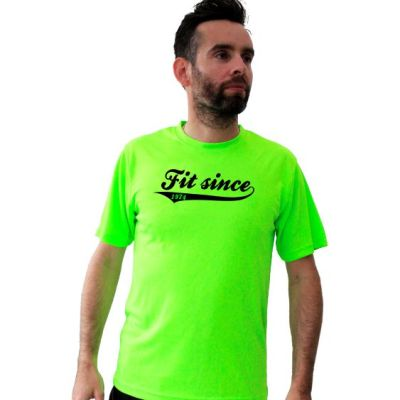 Running t-shirts fit since
