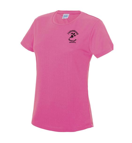 jog-scotland-ladies-tshirt-electric-pink-front