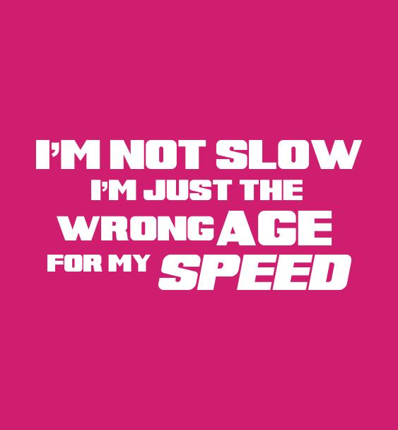 slogan slow hoodie