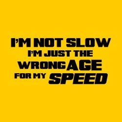 Running t-shirts not slow