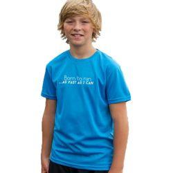 Kids running t-shirts born to run