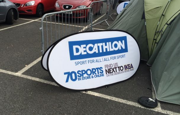 Running event printing banners