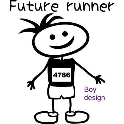 baby future runner boy
