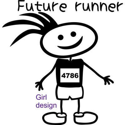 baby future runner girl