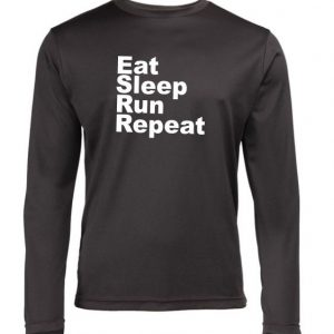 Mens long sleeve running