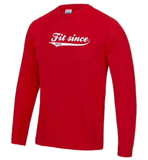 long sleeve running mens fit since