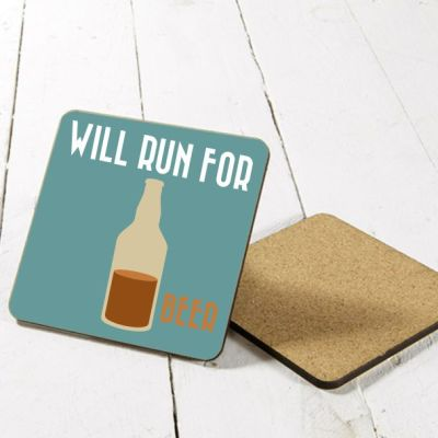 Will run for beer coaster