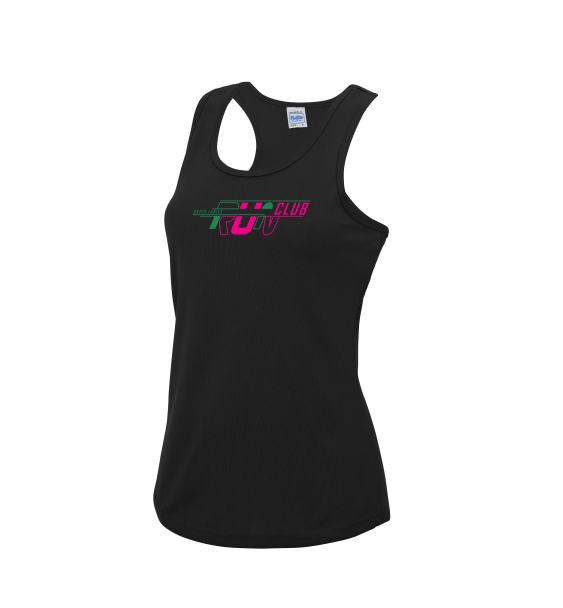Oxted-ladies-black-vest-front
