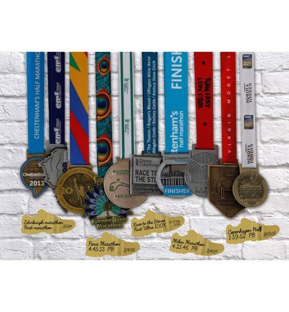 metal trainer medals