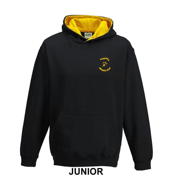 Radcliffe AC hoodie junior front
